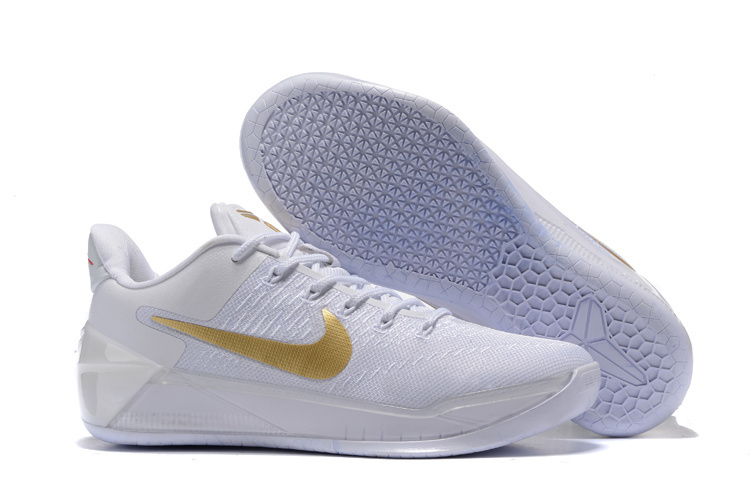 be145cdad9b6 New Nike Kobe Bryant 12 Christmas White Gold Shoes  NKOBE3841 ...