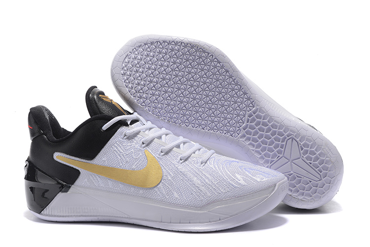 a540cbfe148f New Nike Kobe Bryant 12 White Black Gold Shoes  NKOBE3838  -  82.00 ...