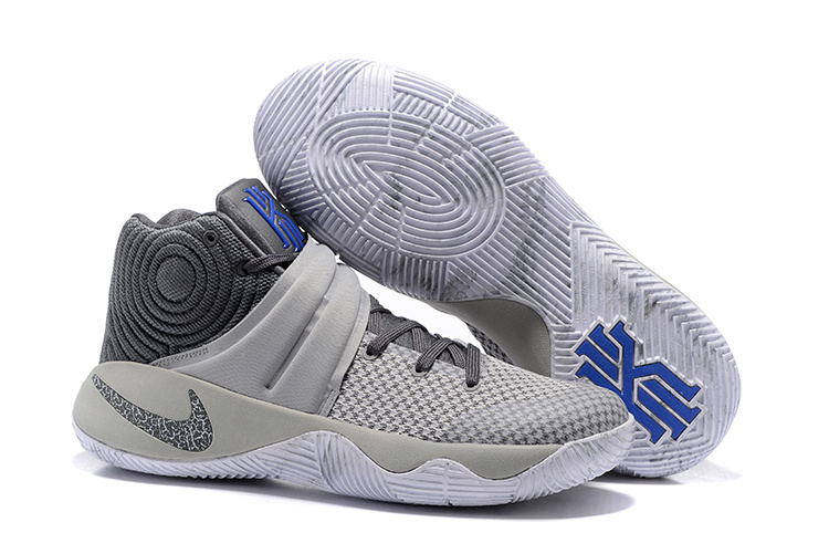 New Nike Kyrie 2 Wolf Grey Shoes