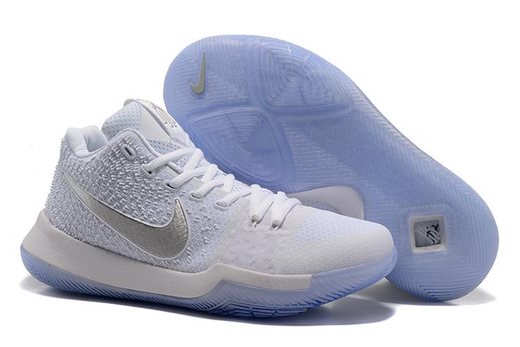 2fda36c895bf New Nike Kyrie 3 All White Shoes  17KOBE81209  -  81.00   Original ...