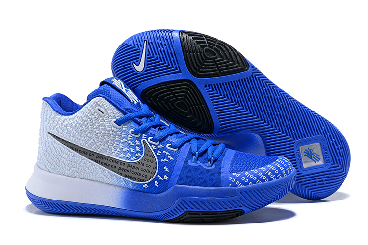 New Nike Kyrie 3 Blue Black Shoes