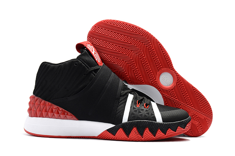 New Nike Kyrie S1HYBRID Black White Red Shoes