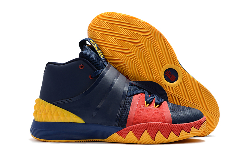 New Nike Kyrie S1HYBRID Deep Blue Red Yellow Shoes