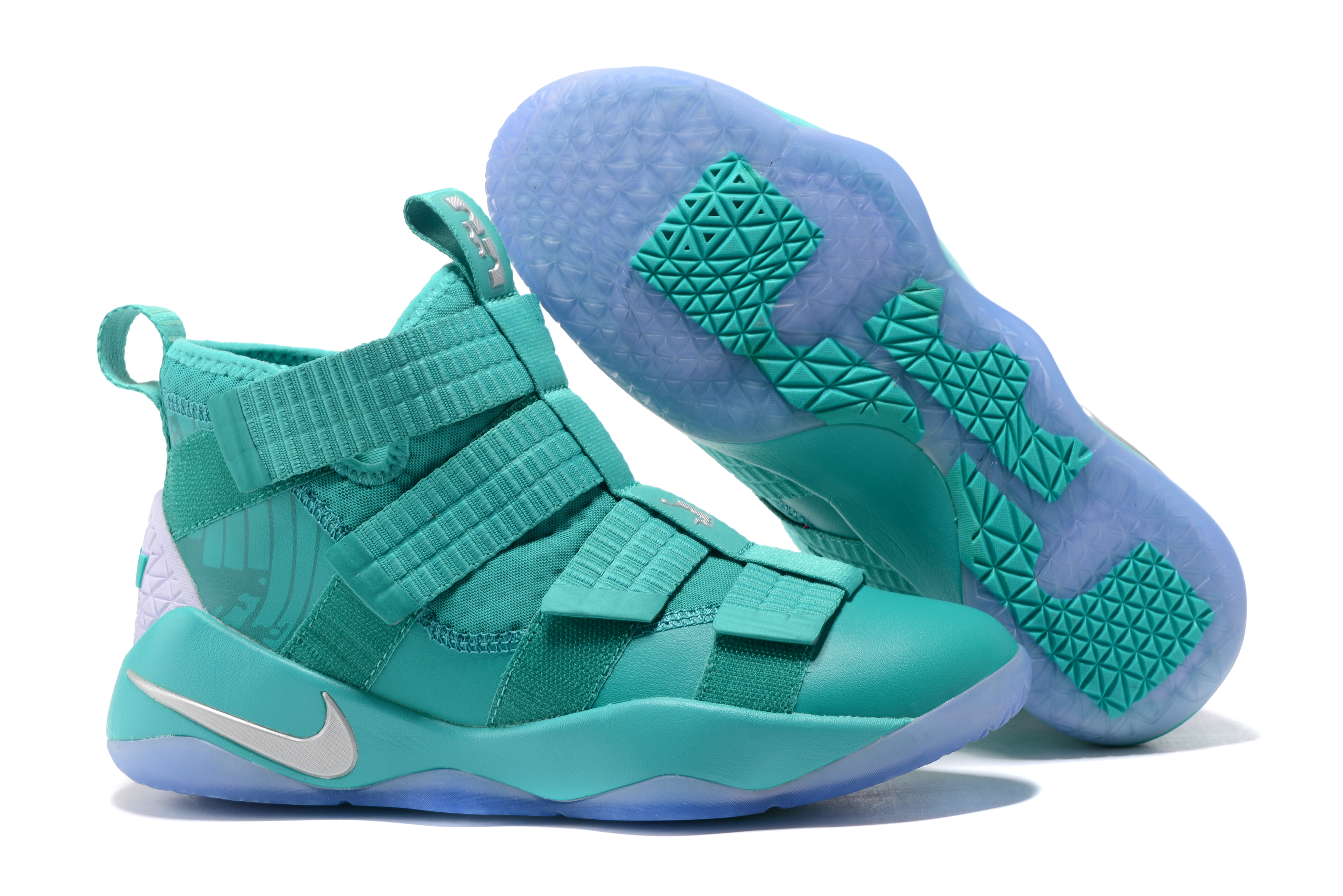 New Nike Lebron Soldier 11 Gint Green Shoes