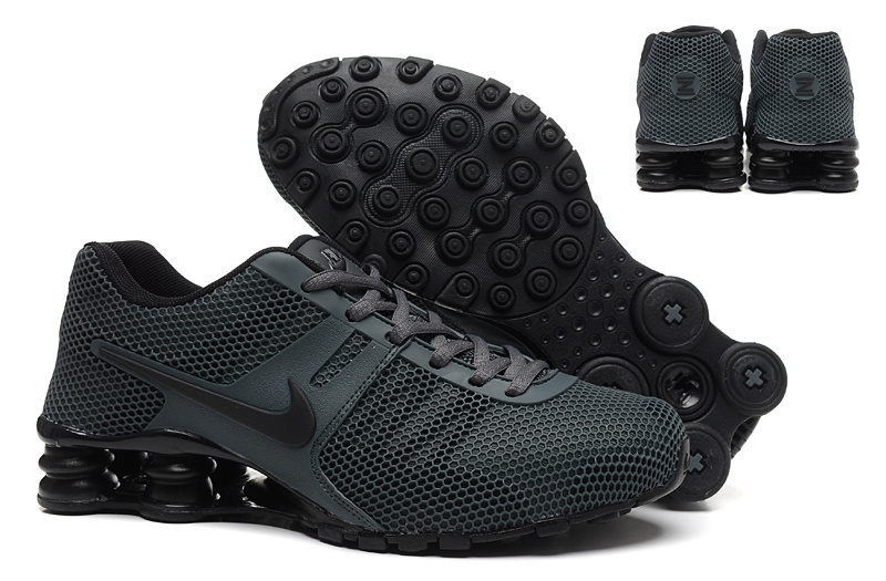 New Nike Shox Current All Black Shoes