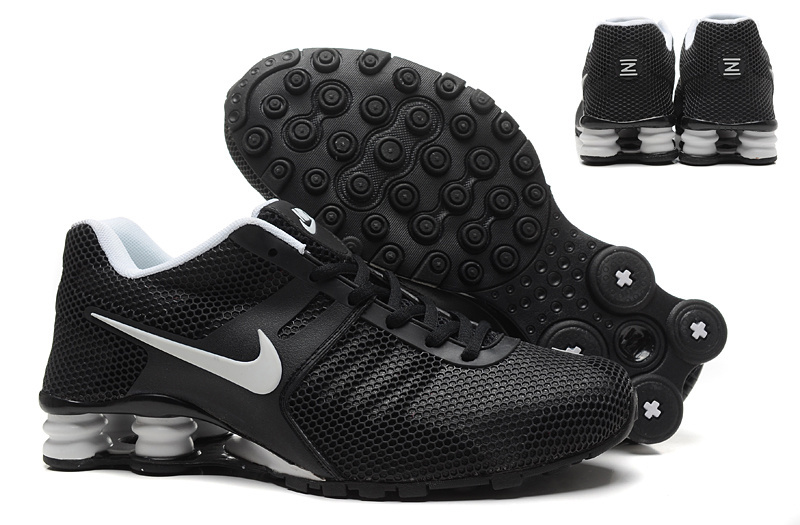 New Nike Shox Current Black Grey Shoes