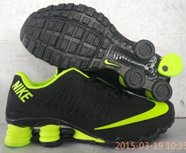 new product 31abb eb675 ... cheap new zealand new nike shox turbo black fluorscent green shoes  7f8ac dfa81 e40f3 61901