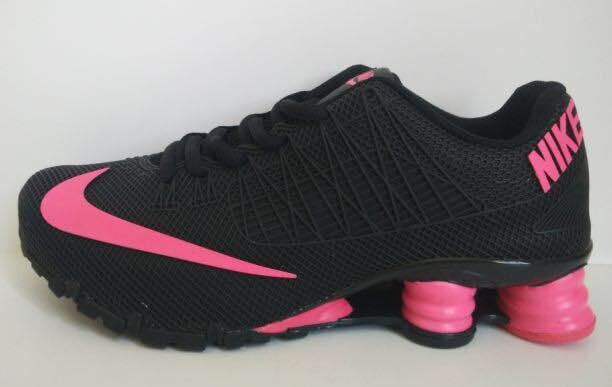 New Nike Shox Turbo Black Pink Shoes For Women
