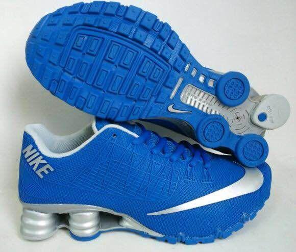New Nike Shox Turbo Blue Silver Shoes  NKOBE424  -  69.00   Original ... 78f3365b4
