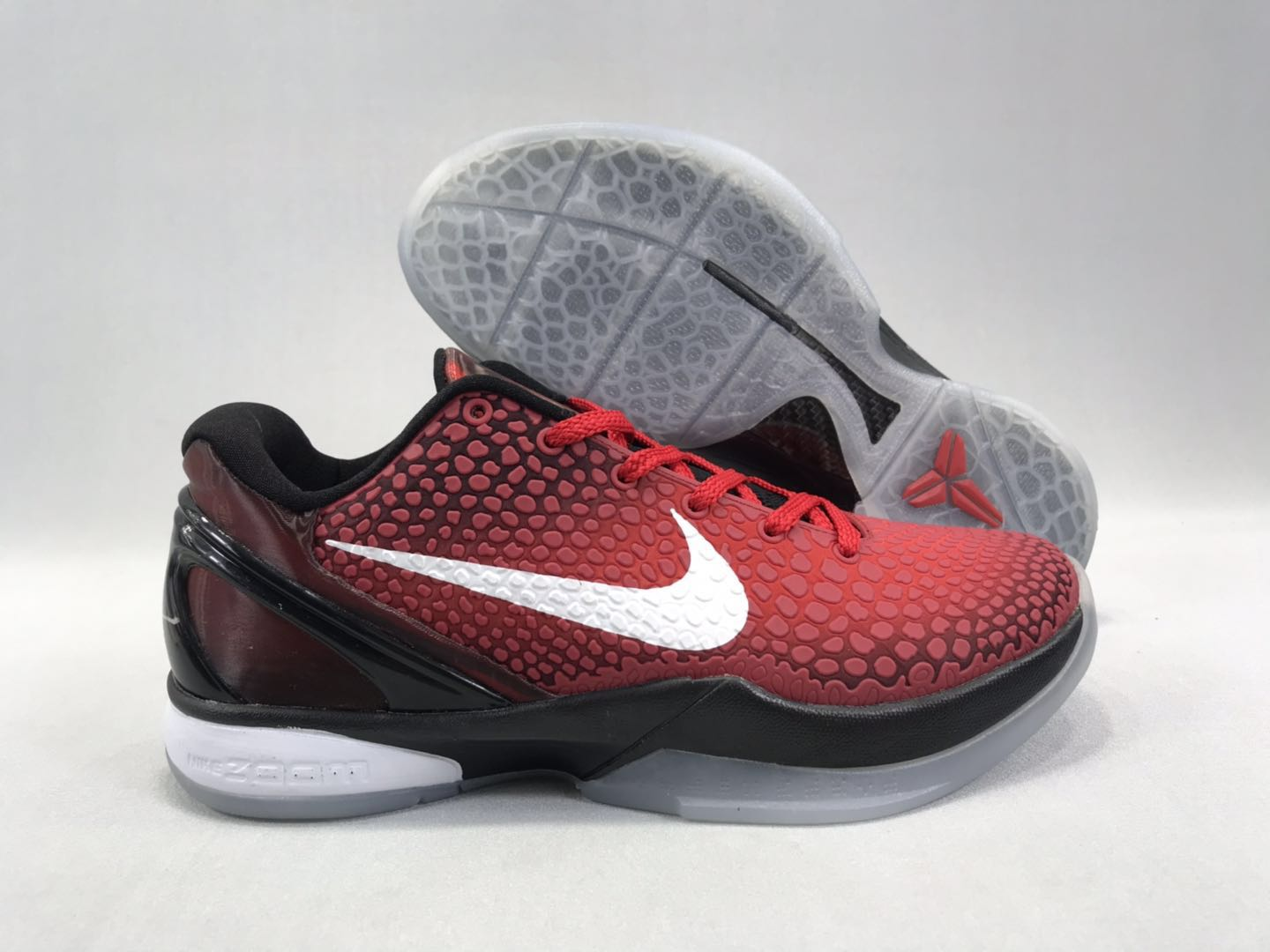New-release Nike Kobe 8 All Star Red Black White Shoes