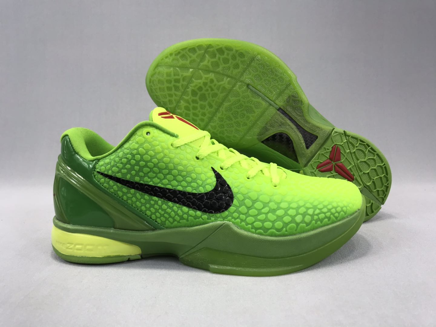 New-release Nike Kobe 8 Christmas Green Black Shoes