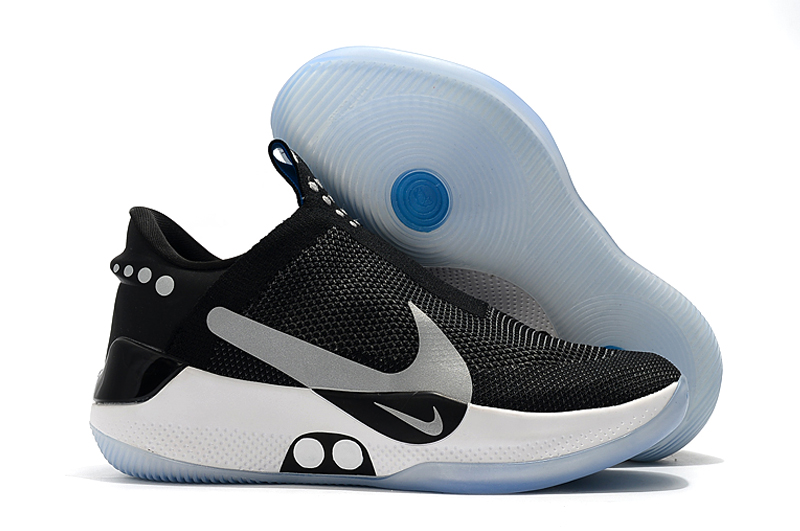 Nike Adapt BB Black Silver White Basketball Shoes