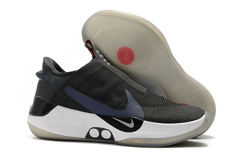 Nike Adapt BB Carbon Grey White Basketball Shoes