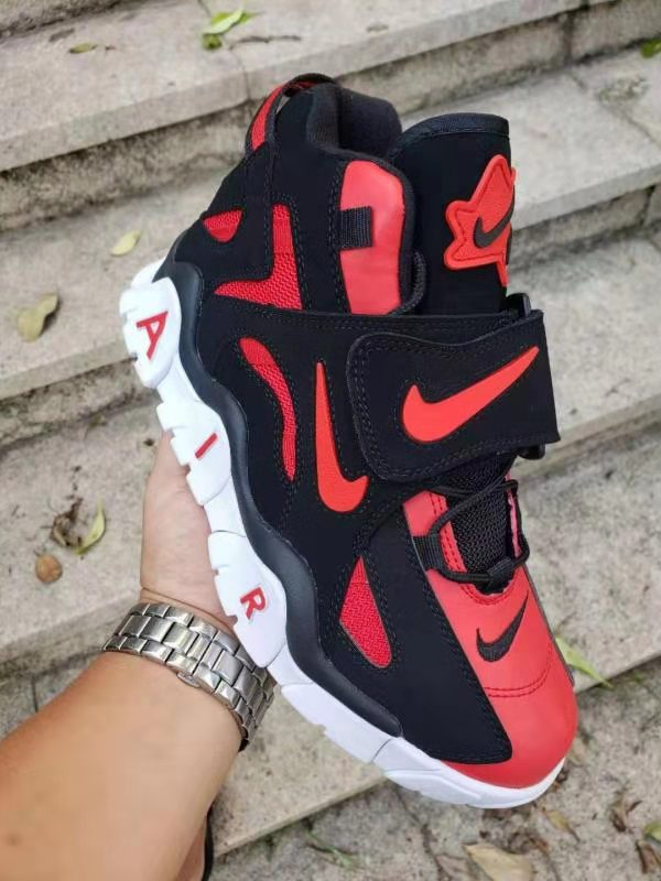 Nike Air Barrage Mid QS Black Red Shoes