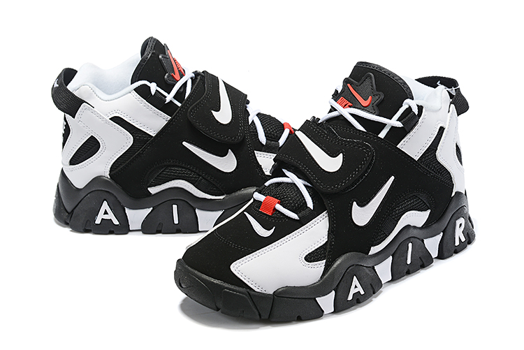Nike Air Barrage Mid QS Black White Shoes