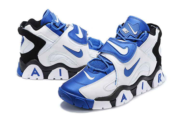 Nike Air Barrage Mid QS Blue White Black Shoes