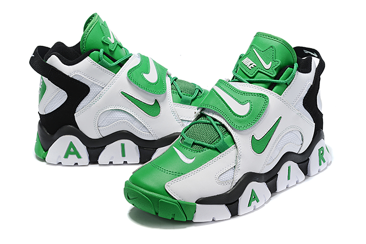 Nike Air Barrage Mid QS Green White Black Shoes