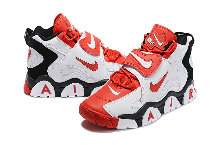 Nike Air Barrage Mid QS Red White Black Shoes