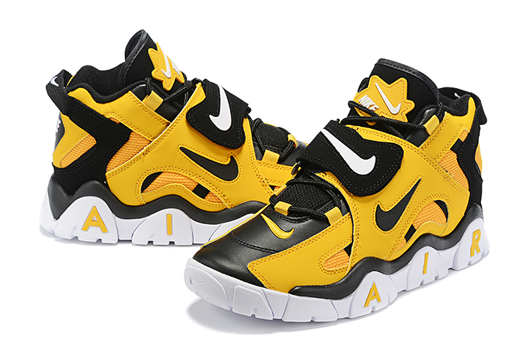Nike Air Barrage Mid QS Yellow Black White Shoes