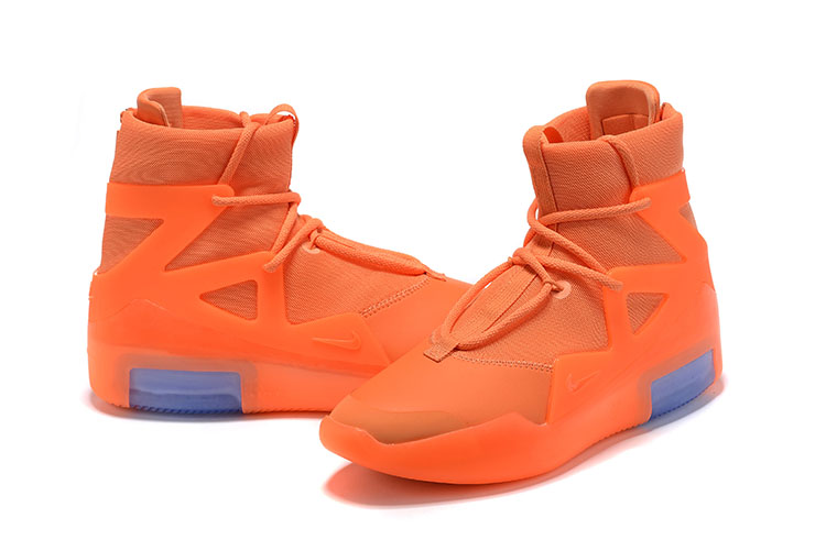 Nike Air Fear of God Orange Blue Shoes