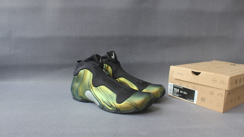 separation shoes f0372 dc468 Nike Air FlightPosite Army Green Black Shoes