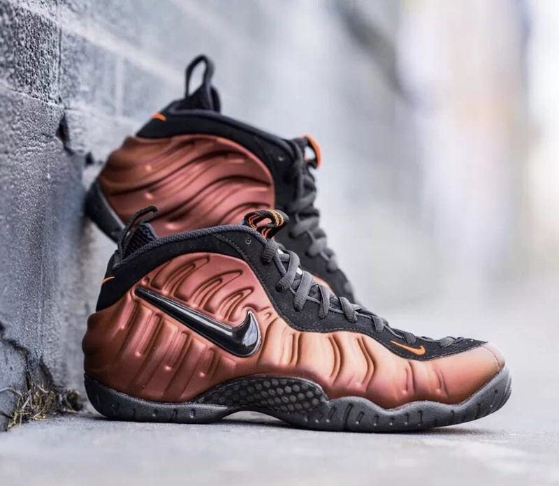 Nike Air Foamposite Pro Bronze Black Shoes