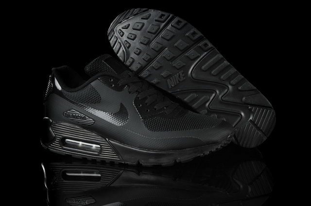 Nike Air Max 90 Hyperfuse All Black Shoes