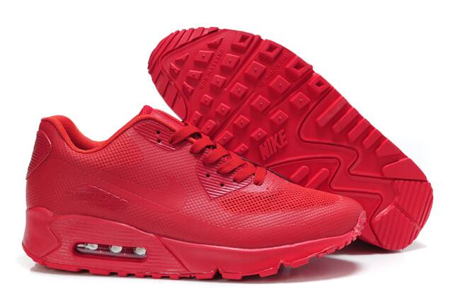 Nike Air Max 90 Hyperfuse Team Red Shoes