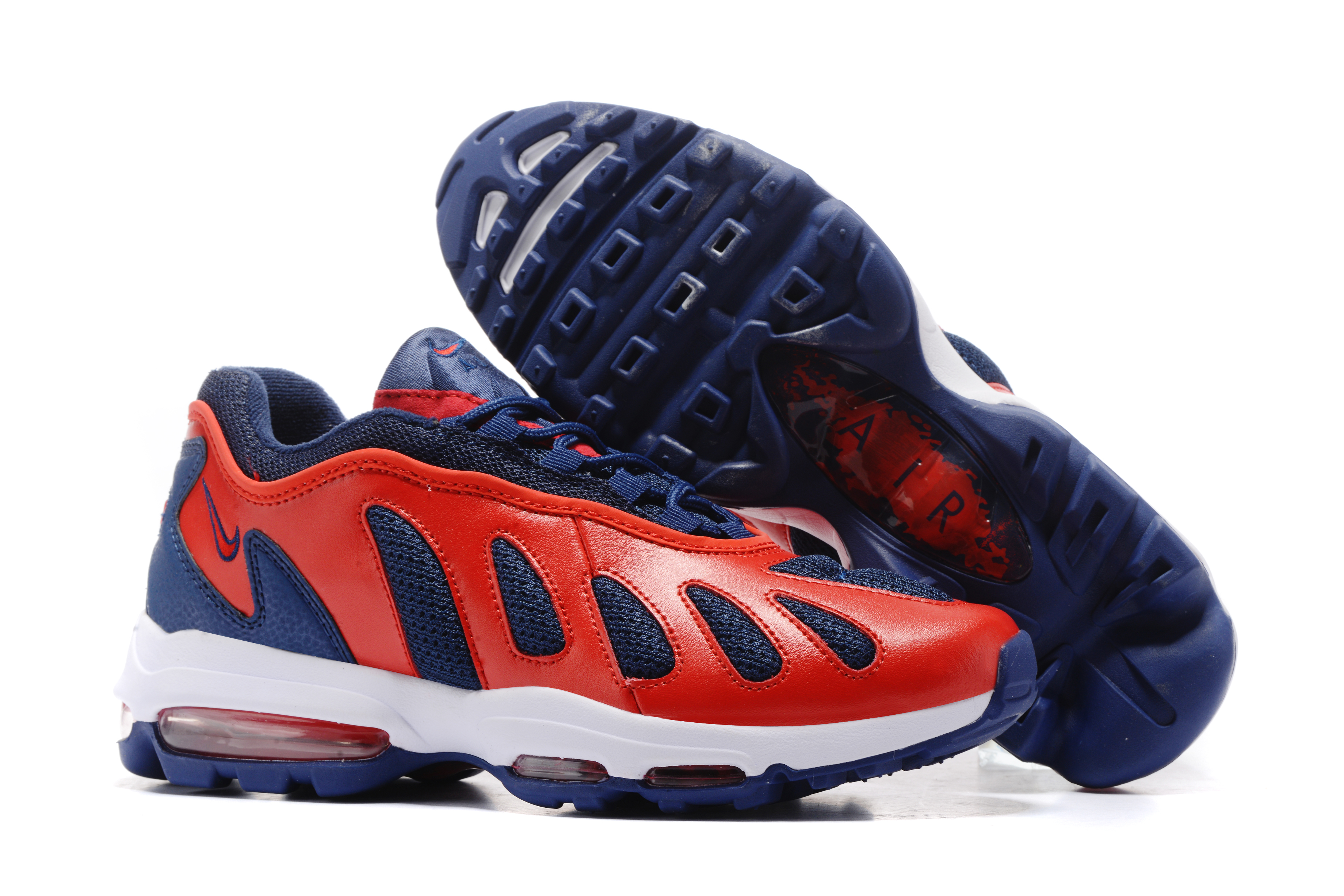 Nike Air Max 96 Blue Red Shoes