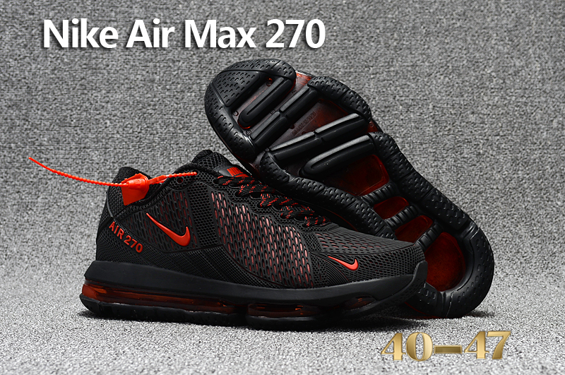 Nike Air Max Flair Black Red Shoes