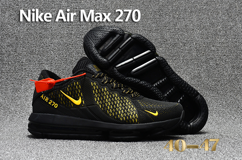 Nike Air Max Flair Black Yellow Shoes