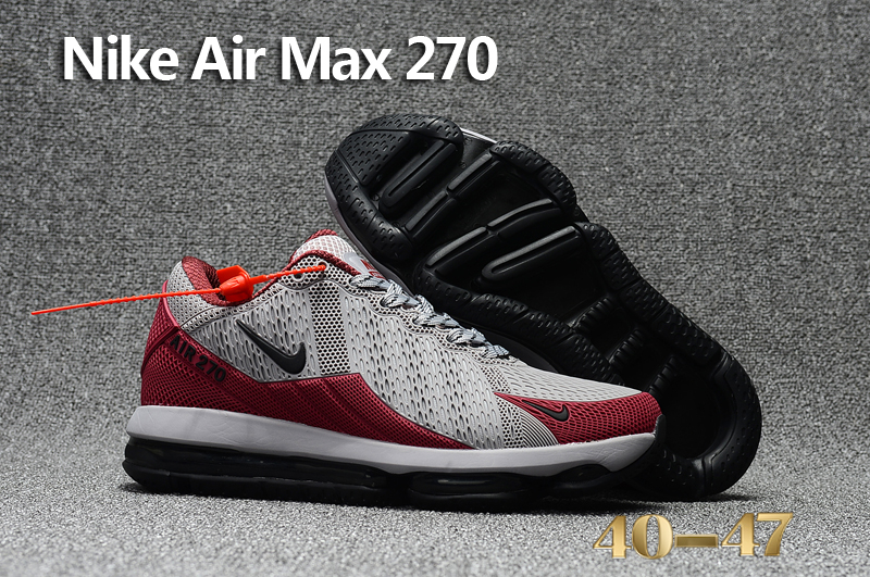 Nike Air Max Flair Grey Red Black Shoes