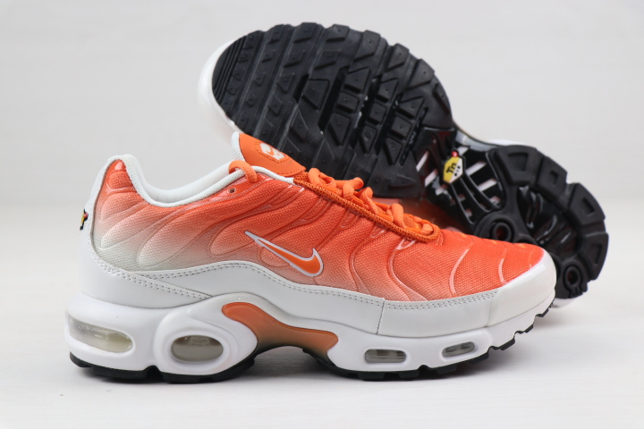Nike Air Max PLUS Orange White Black For Women