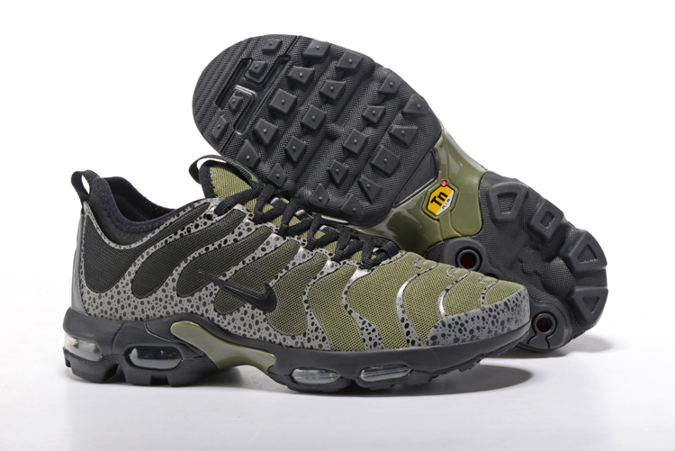 Nike Air Max Plus TN Black Army Green Shoes