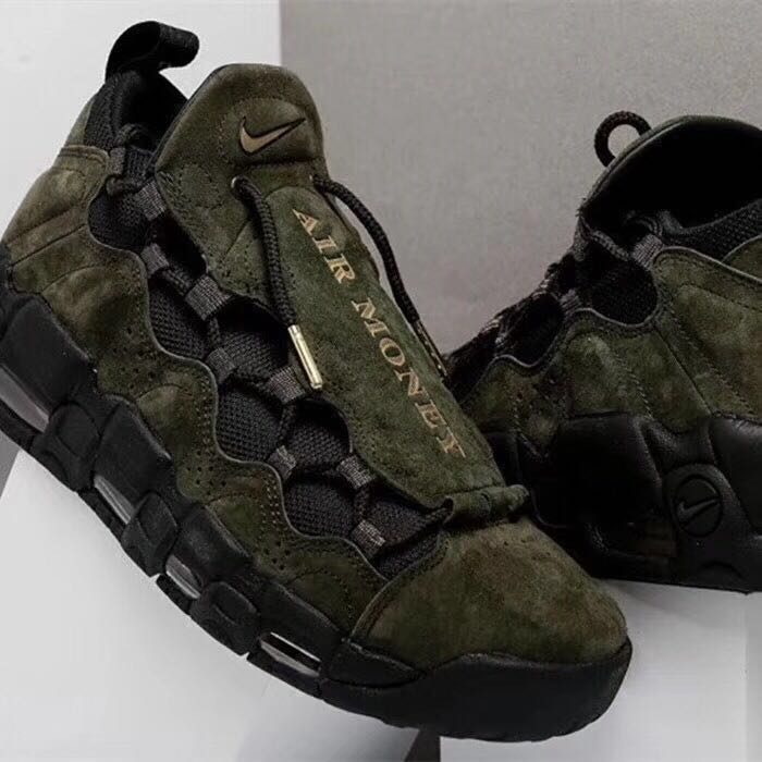 Nike Air Money USA D Army Green Shoes