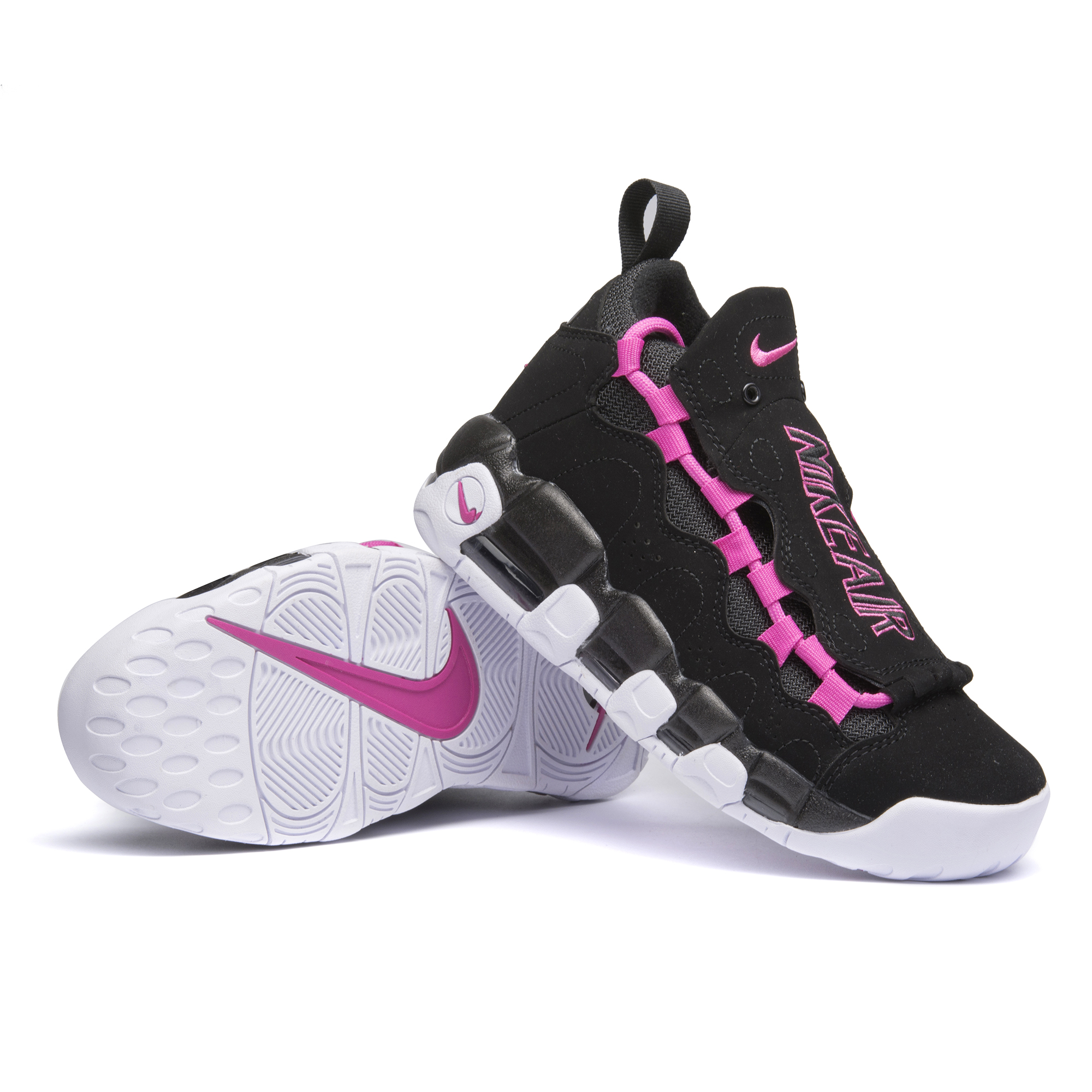 Nike Air More Money QS Black Peach Shoes