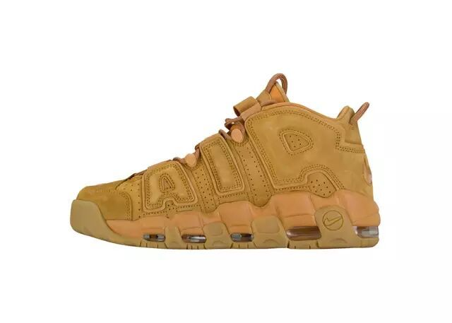 Nike Air More Uptempo Ginger Yellow Shoes