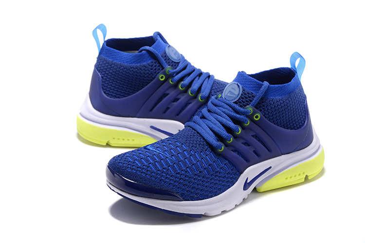 Nike Air Presto Flyknit Ultra Blue Running Shoes For Women