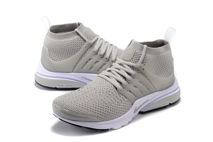 Nike Air Presto Flyknit Ultra Grey Running Shoes For Women