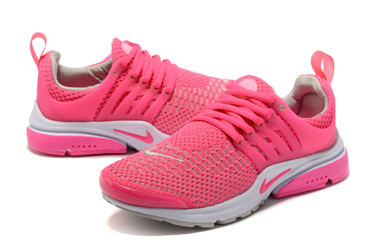 Nike Air Presto Flyknit Ultra Peach Red Running Shoes For Women