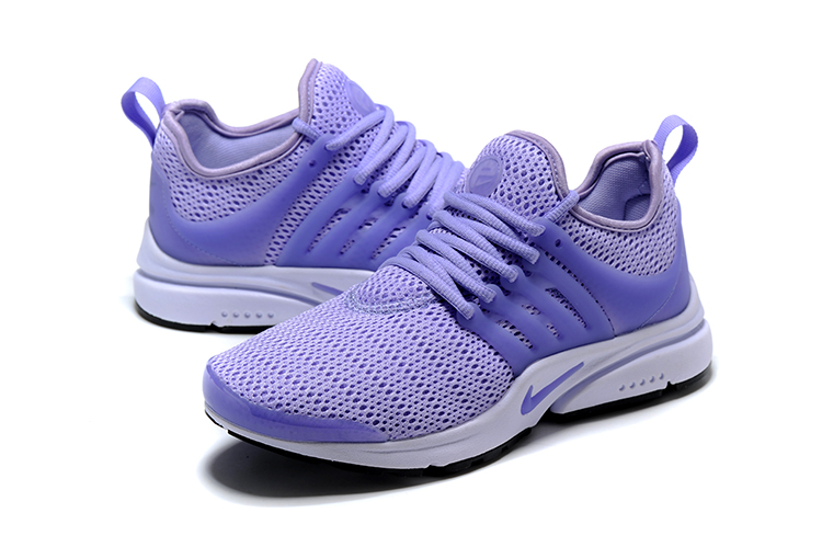 Nike Air Presto Light Purple Running Shoes For Women