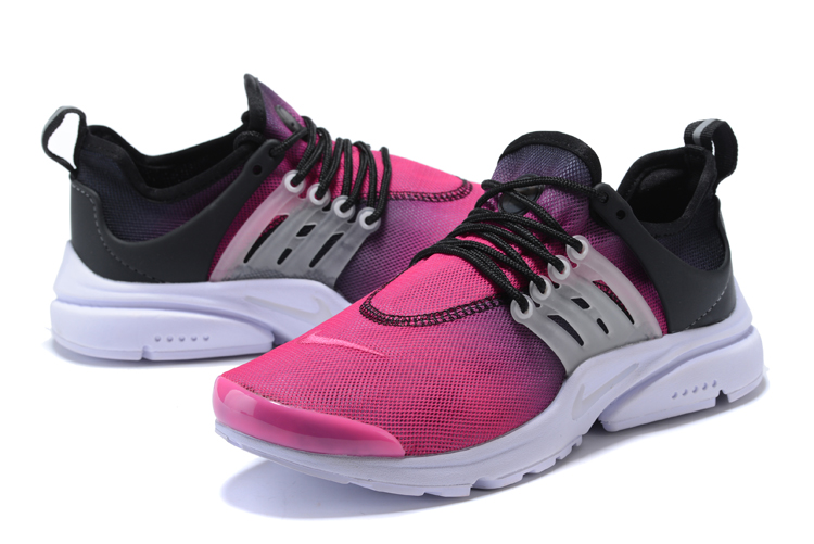 Nike Air Presto Pink Black Running Shoes For Women