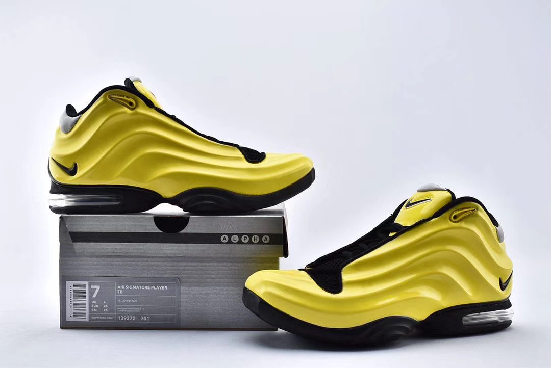 Nike Air Signature Player TB Yellow Black Shoes