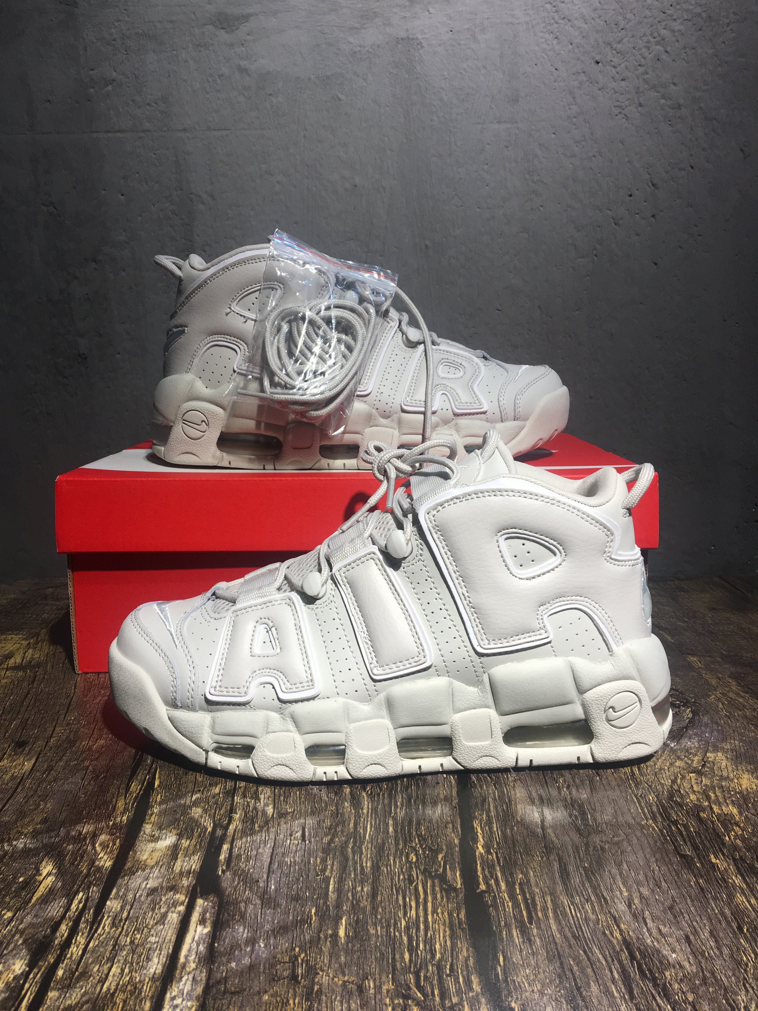 Nike Air Uptempo Trip White Shoes For Women