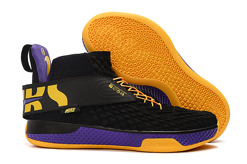 Nike Air Zoom UNVRS Black Yellow Purple Shoes
