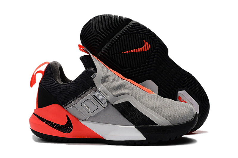 Nike Ambassador XI Grey Black Reddish Orange Shoes