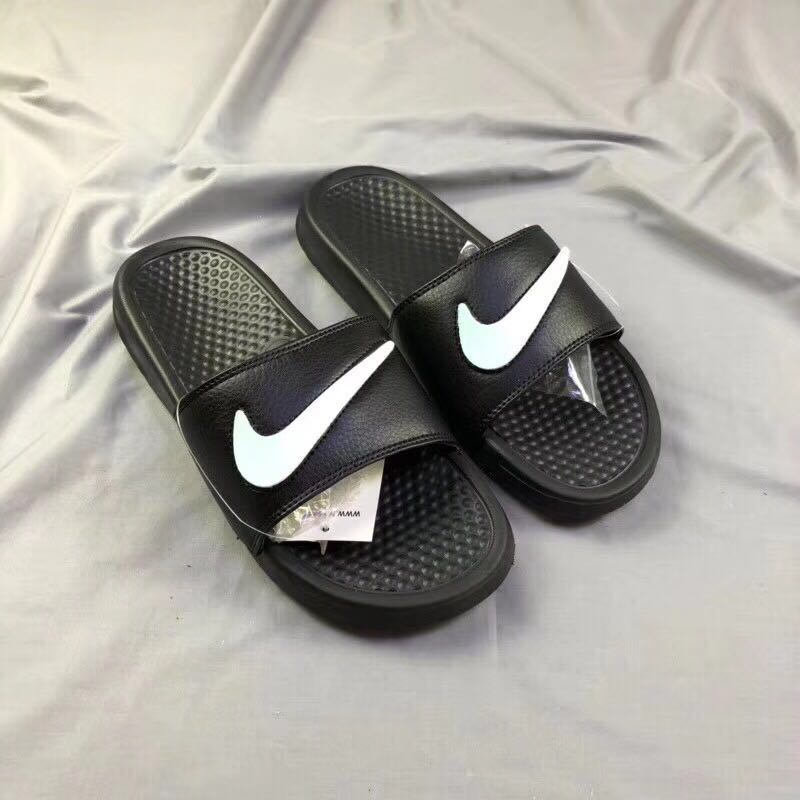 Nike Benassi JDI All Black White