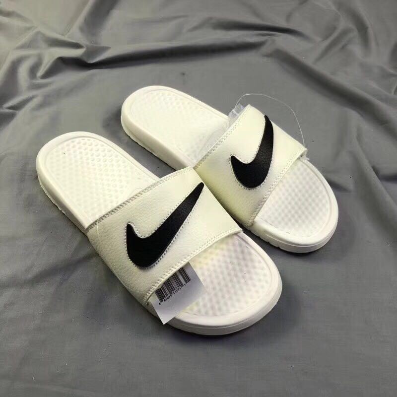 Nike Benassi JDI All White Black