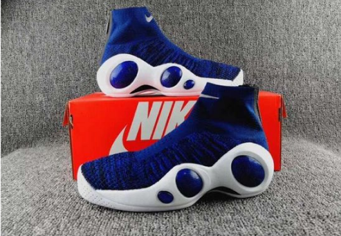 Nike Flight Bonafide Blue White Black Shoes