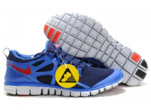 Nike Free 3.0 V3 Mens Shoes blue red